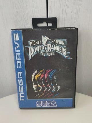 power Rangers de sega mega Drive completo