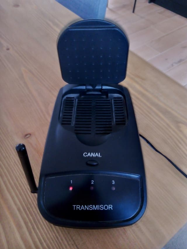 Transmisor audio / vídeo 2.4Ghz