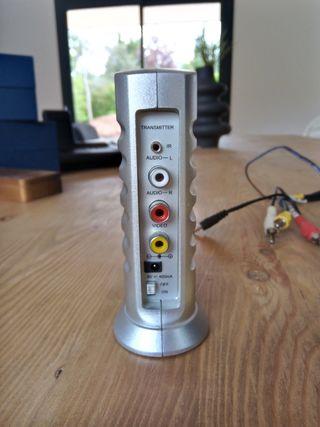Transmisor audio/vídeo 2.4Ghz