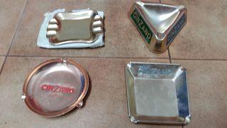 Lote ceniceros Cinzano Vintage