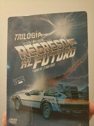 Trilogía Regreso al futuro en DVD caja metálica