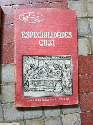 Varios libros antiguos medicina