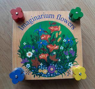 Prensa flores Imaginarium