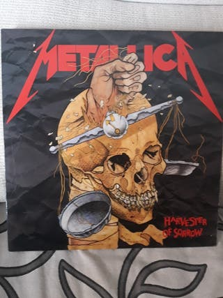 METALLICA. HARVESTER OF SORROW. VINILO