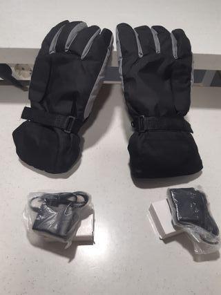 Guantes Calefactables Moto Esquí
