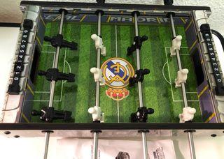 Mini futbolín REAL MADRID