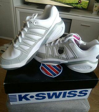 Zapatillas de pádel K-Swiss talla 43