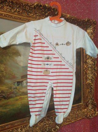 Pijama talla 6 meses bebe niño niña unisex manga l