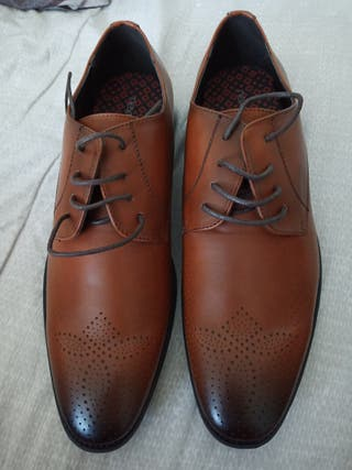 Next formal brown shoes in size 8...brand new