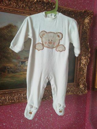 Pijama talla 18 meses 1 año y medio osito