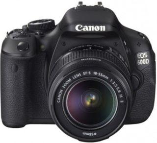 Cámara de Fotos Canon EOS 600 D. Precio tienda 684
