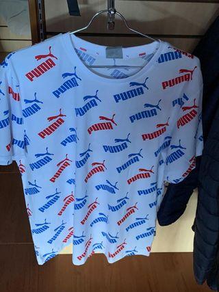 camiseta hombre Puma talla S a XL
