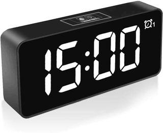 NUEVO!! Reloj Despertador Digital LED Alarma USB