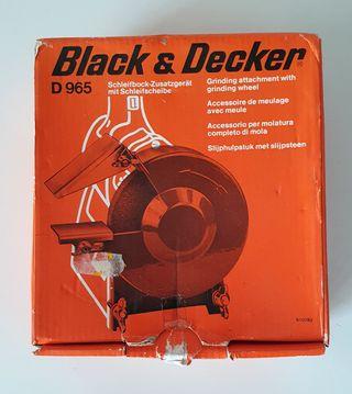Black & Decker Amoladora afiladora de banco. Nuev