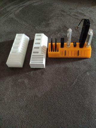 base para USB y tarjetas SD y microSD