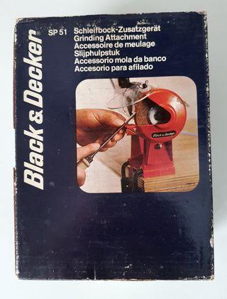 Black & Decker Amoladora afiladora de banco. Nueva