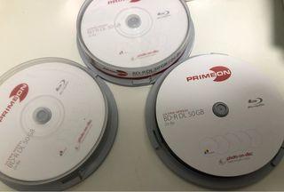 Disco blu-ray lectura/escritura (BD) R DL 50 GB