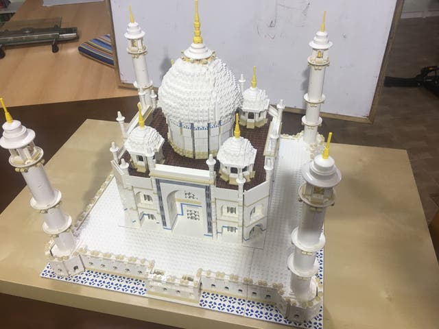 Taj Mahal de Lego 10256