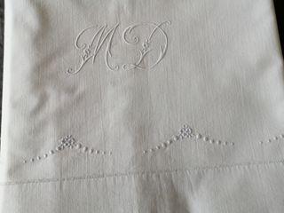sábana de algodón antigua