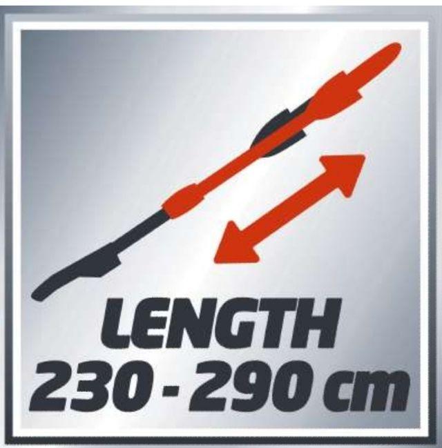 Motosierra telescópica Einhell GE-EC 720T Kit