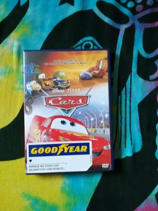 DVD de la película de Cars