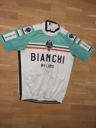 Maillot de ciclismo Bianchi Milano
