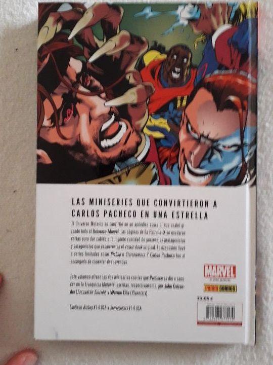 Universo mutante de Carlos Pacheco, Marvel