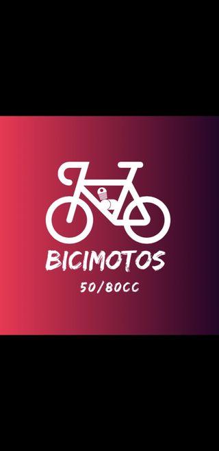 Bicimotos 50/80cc