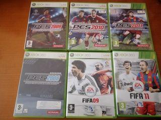 juegos de fútbol xbox 360