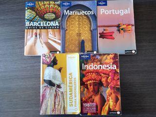 Guías de viajes Lonely Planet.