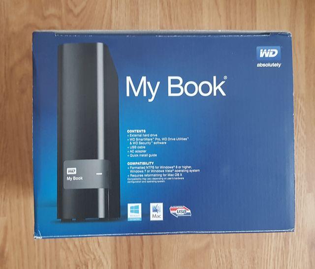 Western Digital My Book Disco Duro Externo 6TB