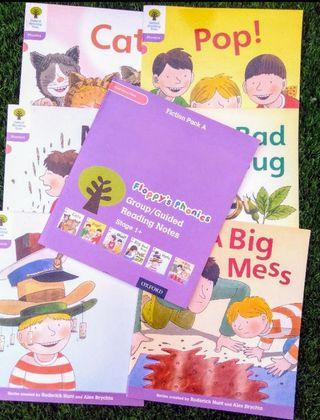 libro lectura niña niño p4 inglés