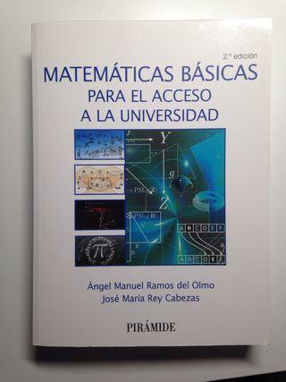 Libro Matemáticas Básicas para el acceso universid