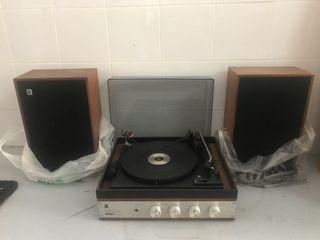 Reproductor vinilos tocadiscos lp