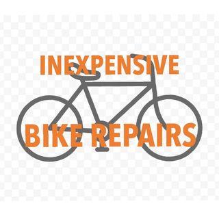 Inexpensive bike repairs.