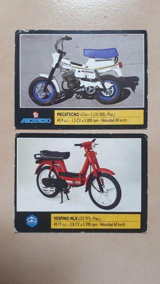 estampas antigua moto