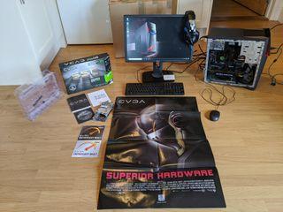 ASUS G11CD Gaming PC - I5 6400 - EVGA GTX1060 6GB