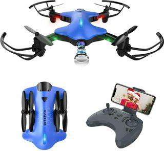 Drone con Cámara 720P, Drone Plegable RC Quadcopte