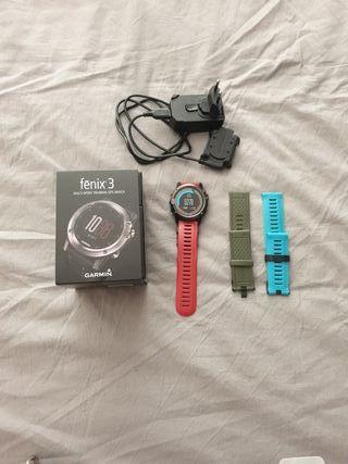 Reloj multideporte con GPS. Batería 6 semanas modo