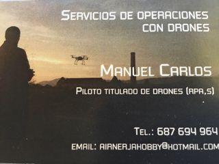Piloto de RPA,s ( dron)