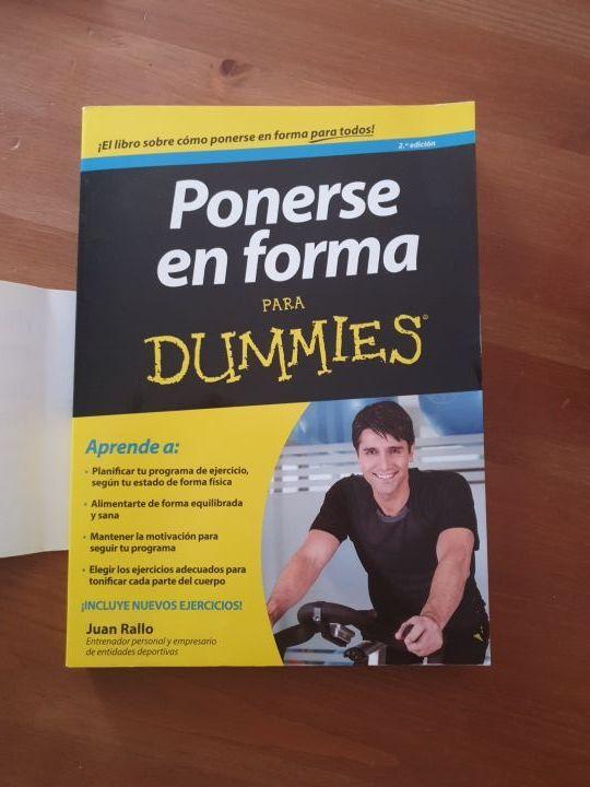 Libro Ponerse En Forma Para Dummies De Segunda Mano Por 6 En Sevilla En Wallapop