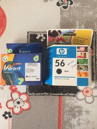 Tinta impresora HP COLOR NEGRO 56