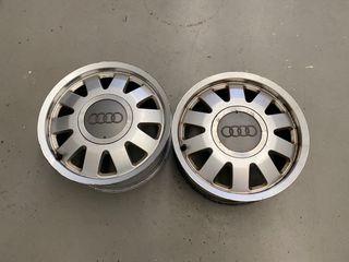 """Tres llantas aluminio Audi A4 B5 15"""""""