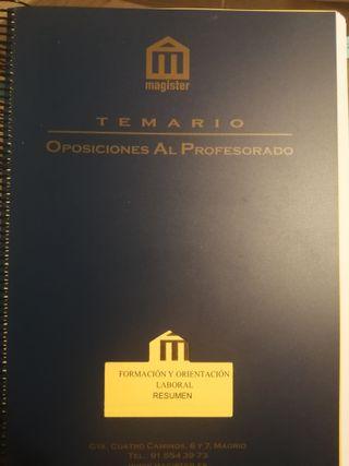 FOL TEMARIO + CASOS PRÁCTICOS EMAGISTER
