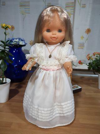 Muñeca Helen de Comunión años 70 funcionando