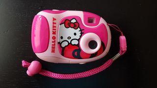 Cámara de fotos digital Hello Kitty