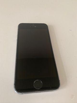 iPhone 5S 16 gb gris espacial con envío incluido