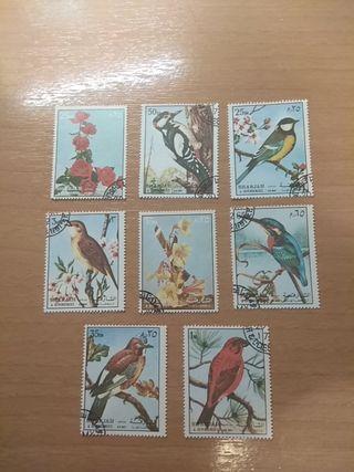 Sellos - Stamps Sharjah and dependencies - UAE