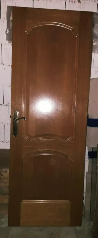 Puertas macizas de roble