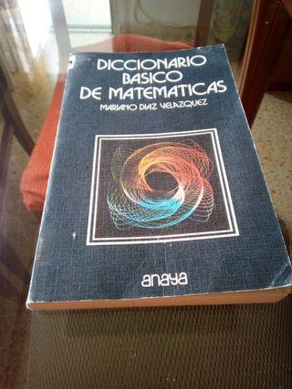 diccionario basico de matematicas